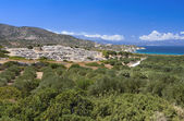 Ancient settlement of Gournia at Crete island in Greece — Stock Photo