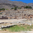 Ancient Minopalace of Kato Zakros at Crete island in Greece — Stock Photo #12936218