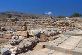 Ancient Minoan palace of Kato Zakros at Crete — 图库照片