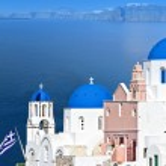 Santorini island in Greece — Stock Photo #12961994