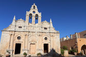 Monasterio de arcadi en la isla de creta en grecia — Foto de Stock