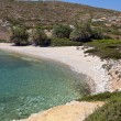 Vai beach at Crete island in Greece — Stock Photo