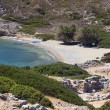 Stock Photo: Areof ancient Itanos near Vai beach at Crete island