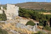 Antico insediamento medievale presso l'isola di creta in grecia — Foto Stock