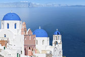 Isla de santorini en grecia — Foto de Stock