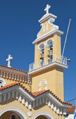 Traditional church at Kefalonia island in Greece — Stock Photo