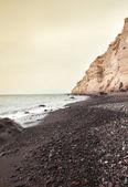 Spiaggia di isola di santorini in grecia — Foto Stock