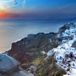Stock Photo: Santorini island in Greece