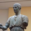 Charioteer statue located at Delphi museum in Greece — Stock Photo #13003113