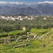 ������, ������: Ancient and modern Sparta historical city in Greece