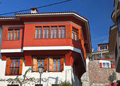 Traditional house located at Thessaloniki city in Greece. — Stock Photo