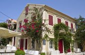 Traditional house at Kefalonia island in Greece — Stock Photo