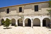 Monastery of 'Katharon' at Ithaki island in Greece — Stock Photo