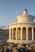 Lighthouse at Argostoli of Kefalonia island in Greece — Stock Photo