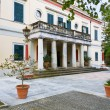 Stock Photo: Mon Repo palace at Corfu island in Greece