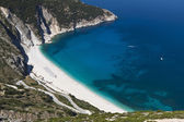 Mirtos beach at Kefalonia island in Greece — Stock Photo