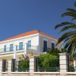 neoclassic house at kefalonia island in greece — Stock Photo