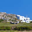 Monolithos at Santorini island in aegean sea at Greece — Stockfoto
