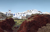 Traditional village of Oia at Santorini island in Greece — Stock Photo