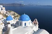 在希腊的圣托里尼岛伊亚村 — 图库照片