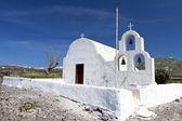 东正教传统教会在希腊的圣托里尼岛 — 图库照片