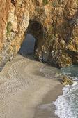 Mylopotamos stranden vid tsagarada av pelion i grekland — Stockfoto