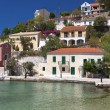 Assos village at Kefalonia island in Greece — Stock Photo