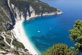 Mirtos plaj kefalonia Adası Yunanistan — Stok fotoğraf