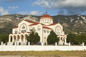 St. Gerasimos der Omalon auf der Insel Kefalonia in Griechenland — Stockfoto