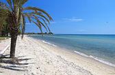 Malebné pláže v řecku — Stock fotografie