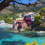 Kefalonia island in Greece. — Stock Photo