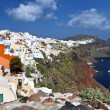 Santorini island in Greece. Oia village — Stock Photo