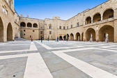 Palace of the Grand Magister at Rhodes island in Greece — Stock Photo