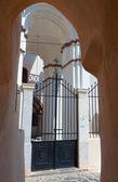 Vecchia chiesa all'isola di santorini in grecia — Foto Stock