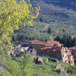 Mystras medieval settlement at Sparta city in Greece — Stock Photo