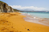 Scenic beach at Kefalonia island in Greece — Stock Photo