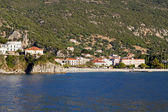 Fishing village of Poros at Kefalonia island in Greece — Stock Photo