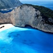 Scenic beach in Greece — Stock Photo