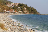 Agios Ioannis village and beach at Pelion in Greece — Stock Photo