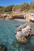 'Gradakia' beach at Argostoli of Kefalonia island in Greece — Stockfoto