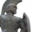 Постер, плакат: Leonidas statue at Sparta city in Greece