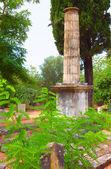British cemetery at Kefalonia island in Greece — Stock Photo