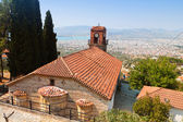 Greek church at Volos city in Greece. — Stock Photo