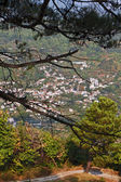 Zagora village located at Pelion in Greece — Stock Photo