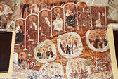 Old fresco from an orthodox church in Greece — Stock Photo