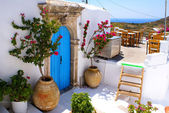 Greek traditional house located at Kithira island — Stock Photo