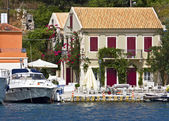 Fiscardo resort at Kefalonia island in Greece — Stock Photo