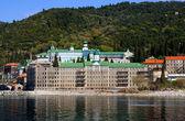 Russian monastery at Athos, Greece — Stock Photo
