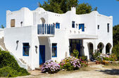 Traditional greek house at Samothraki island in Greece — Stock Photo