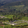 Ancient Messene at Kalamata in Greece - Stock Photo